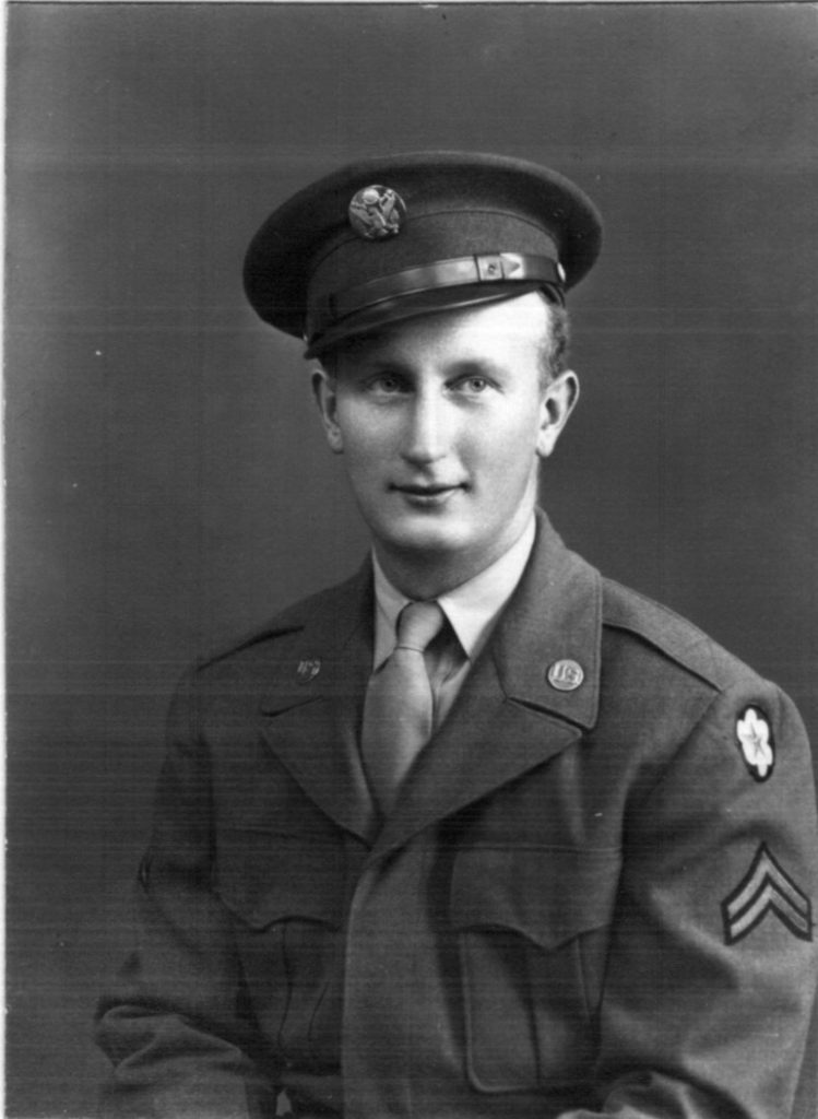 1946 Bill as Army Intelligence officer