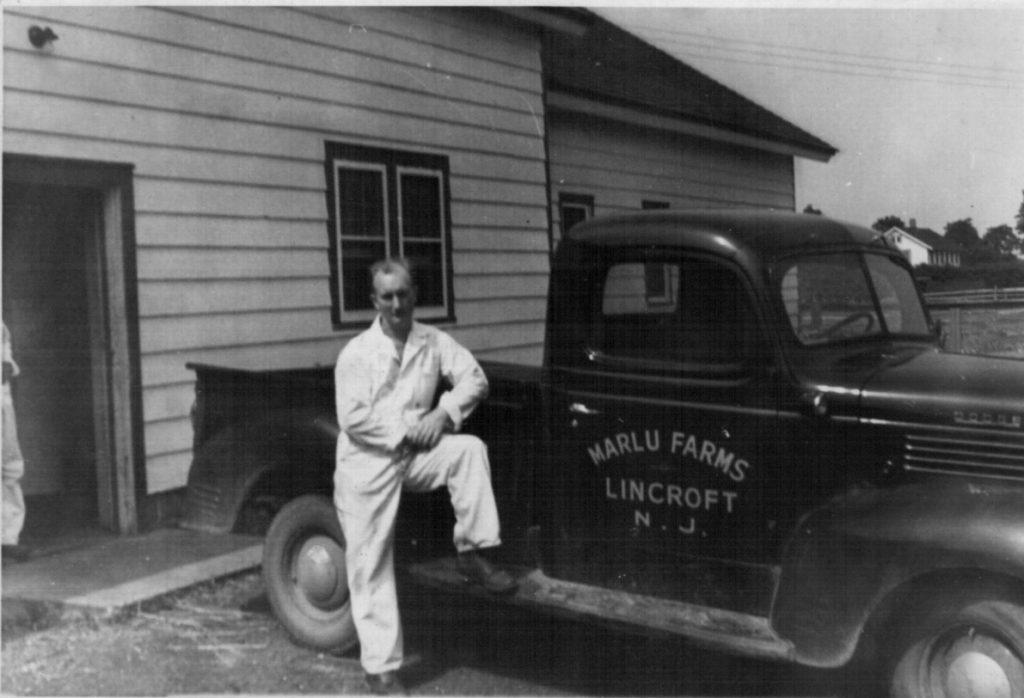 1948 Bill's first dairyman job