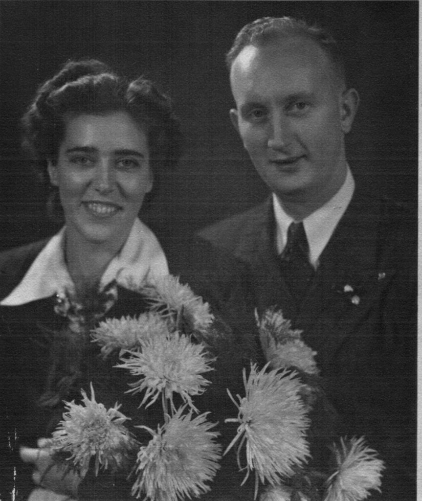 Nov. 8, 1947 Karola & Bill's wedding